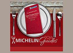 2014 San Francisco Michelin Guide